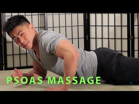 Hip Flexor/Psoas Muscle Release : Massage