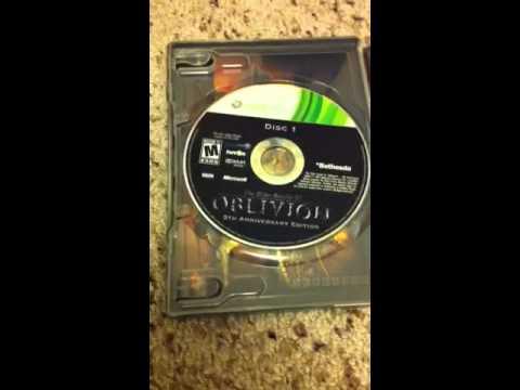 Oblivion unboxing