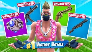 FORTNITE UNVAULTED EVERYTHING