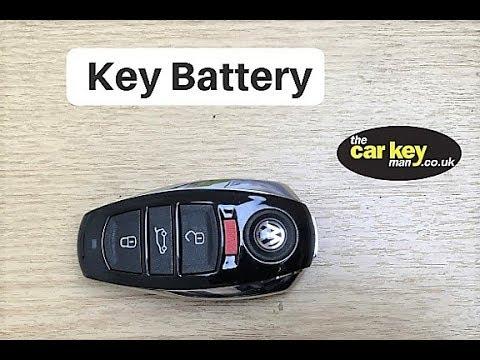 VW Touareg Proximity Key Battery change HOW TO