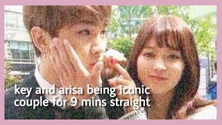Funny Moments: KEY ARISA COUPLE (We Got Married) Sundae Couple SHINee Key & Yagi Arisa