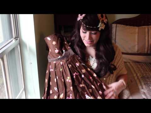 what is in the box? Volume 3: Everyday Lolita Necessities