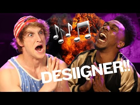 DESIIGNER AND I ARE, LIKE, THE BEST SONG WRITERS EVER!
