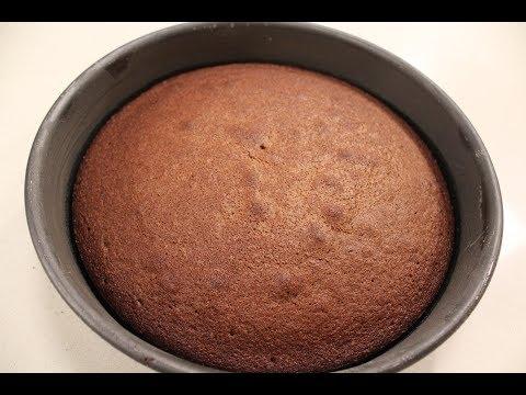 Dark Chocolate Sponge | Dessert Recipes | Sanjeev Kapoor Khazana
