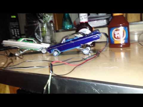lowrider model cars hop