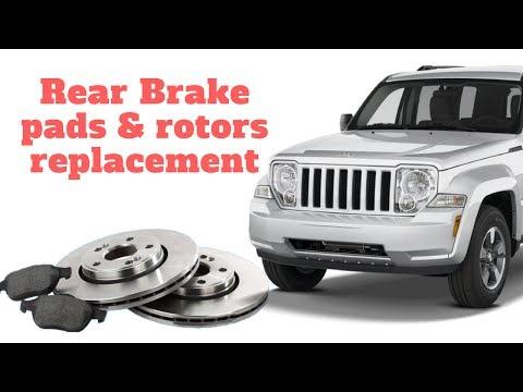 Jeep Liberty Brake replacement. Pads & rotors.