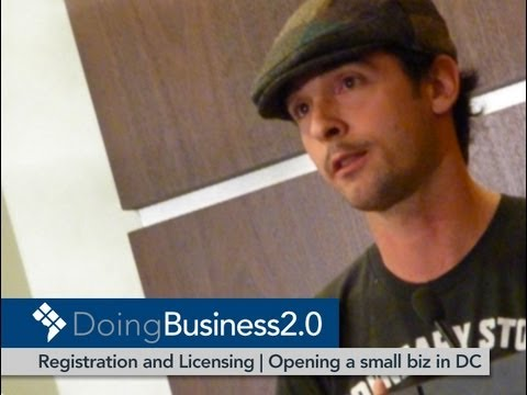 Registration & Licensing | Doing Business In DC | Opening a Small Business in DC