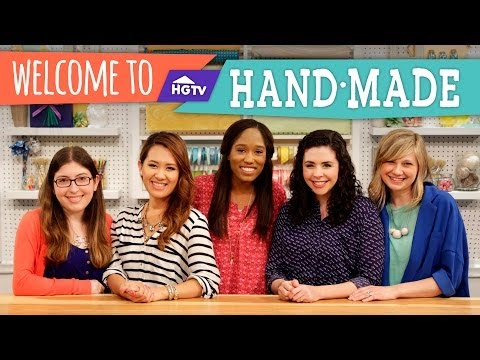 Introducing HGTV Handmade