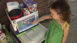 4-year-old name Florence helps Hurricane Florence victims