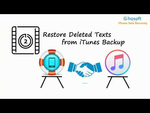 How to Recover Deleted Text Messages on iPhone X/8/7/6S