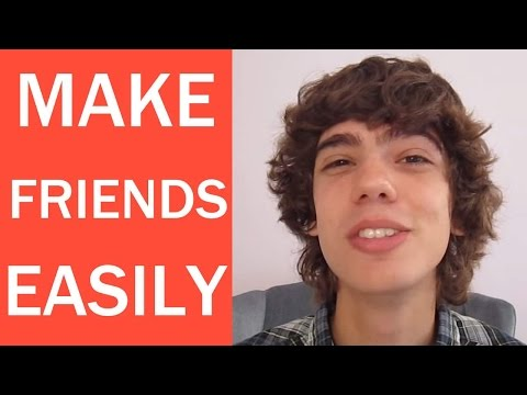 How to Make Friends in High School EASILY!