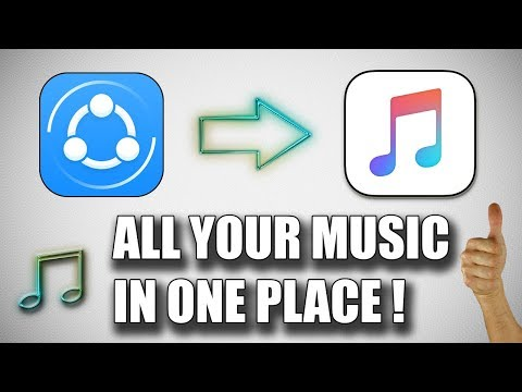 How to transfer Music from shareit to apple music app ✔ iphone / ipad / ipod |working 100%|