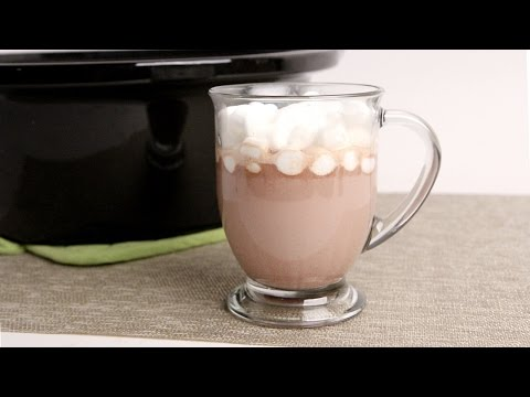 Crock Pot Hot Chocolate - Laura Vitale - Laura in the Kitchen Episode 1003