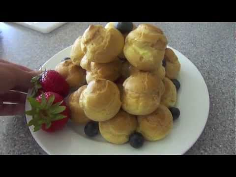 how to make cream puffs part two