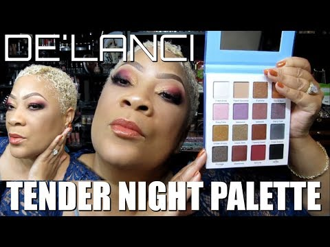 DE'LANCI Duochrome Makeup Palette Matte Shimmer 16 Colors High Pigmented Eyeshadow Makeup