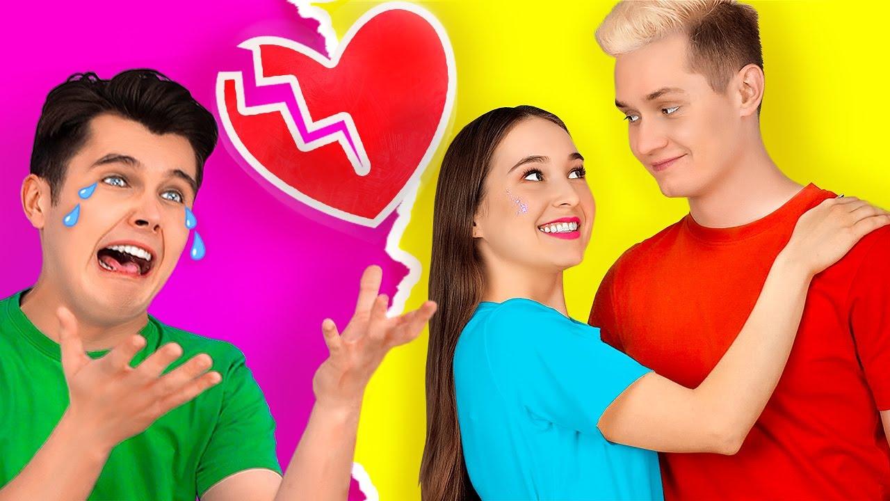 CRAZY BOYFRIEND STRUGGLES    Boyfriend VS Girlfriend! Funny Situations and Life by 123 GO! SCHOOL