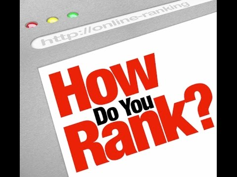 Page Rankings In Google - How To Improve