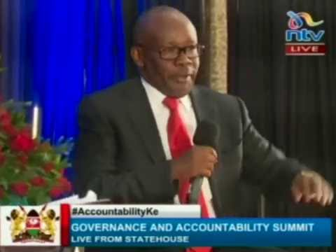 AG Muigai says the court is the weakest link in the fight against corruption