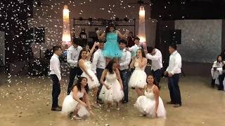 Avas Surprise Dance  Quinceaera Baile Sorpresa 2019 Reggaetoncumbia Bachata Hip Hop