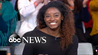 Simone Biles opens up on taking anti-anxiety medication