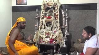 Vyasa Raja Mutt Swamigalu Pooja on 27-06-2015 at Subramanya Mutt, HSR Layout