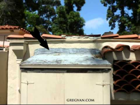 Water Can Get Behind Roofing Tar on Stucco Walls - Construction Tips