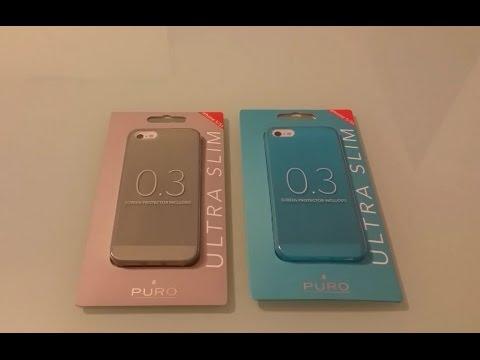 Cover Ultra Slim 0,3mm Puro per iPhone 5/5S