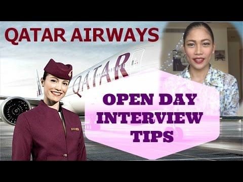 Qatar Airways Cabin Crew Open Day Interview Tips (part 1)