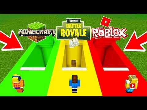 Base Secreta De Minecraft Vs Base Secreta De Roblox Vs Base Secreta