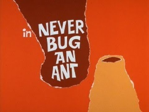 Ant and the Aardvark: NEVER BUG AN ANT (TV version, laugh track)