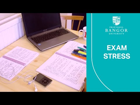 Exam stress - Olivia's video diary - how to deal with exam stress at Uni