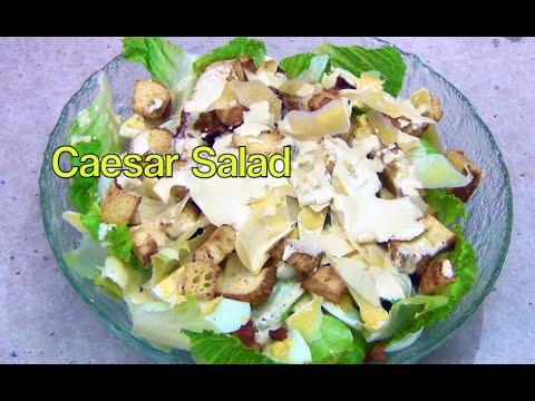 Easy Caesar Salad cheekyricho Actifry Video Recipe