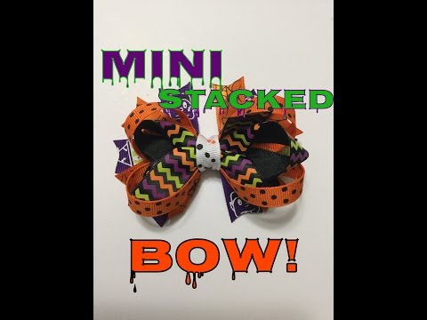 Let's Make a Halloween Bow!!