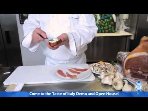 Taste of Italy Cooking Demo Preview