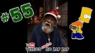 Vídeos Comédia do Zap Zap #55 Oh Oh Oh Papai Noel Chegou !!!