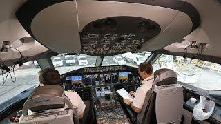 Qatar Airways B787-8 Dreamliner First Class Doha Dubai shuttle