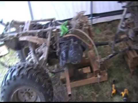 2 Seater Go Kart Built From ATV Part 2