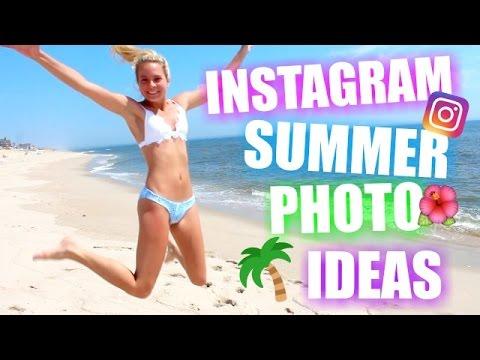 INSTAGRAM SUMMER PHOTO IDEAS! INSTAGRAM BEACH PHOTO IDEAS! Instagram Photo Ideas!