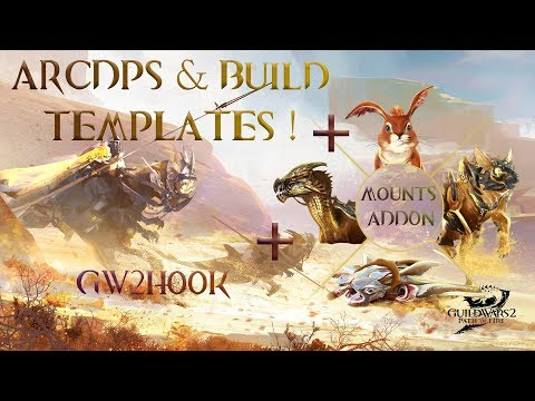 Guild Wars 2 - How to link Arcdps, GW2Hook and GW2Mounts addons