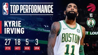 Kyrie Irving Drops 27 Points & Career-High 18 Assists | January 16, 2019