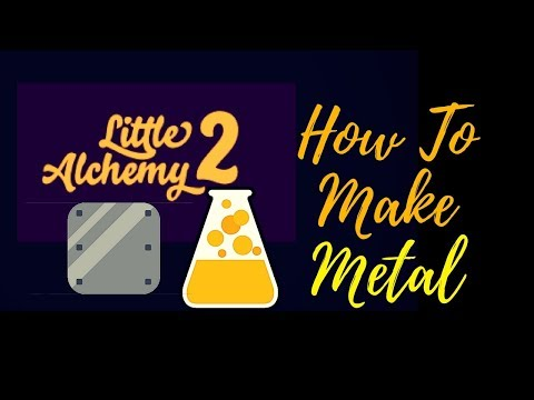 Little Alchemy 2-How To Make Metal Cheats & Hints