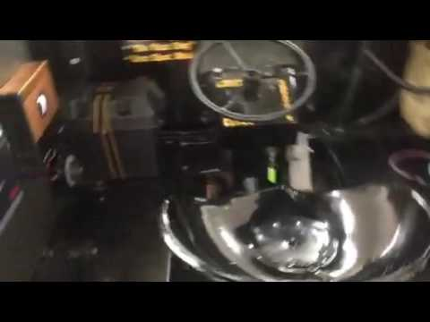 Sound system in a train by Al&eds Autosound Ontario Ca