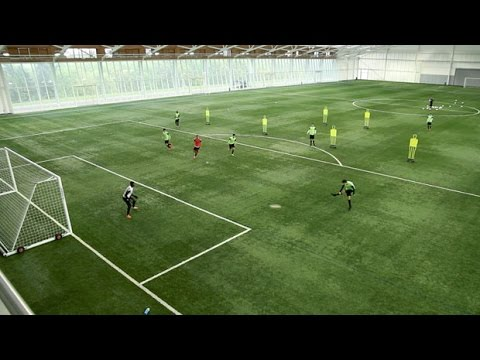 Link up play in the attacking third | Soccer training drill | Nike Academy