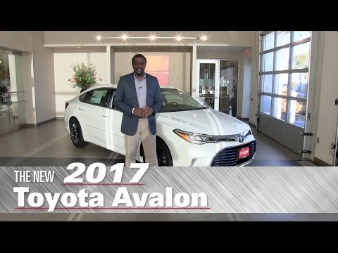 The New 2017 Toyota Avalon XLE - Minneapolis, St Paul, Brooklyn Center, MN - Review