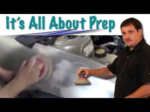 How To Prep A Fender For Primer