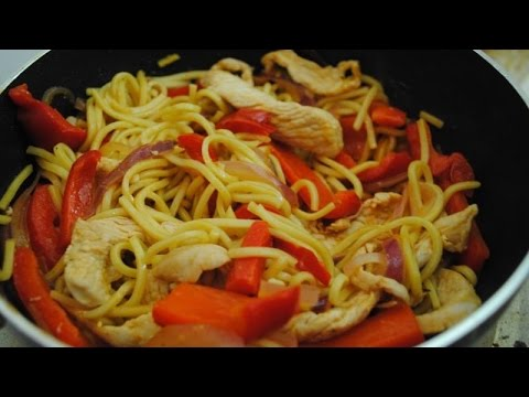 CHINESE CHICKEN STIRFRY - Student Recipe