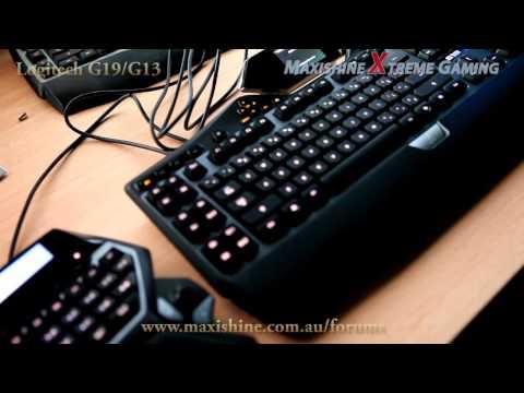 Logitech G19 First Look (HD)