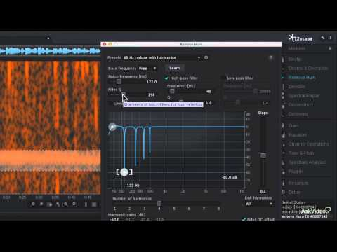 iZotope RX 3: Audio Repair Toolbox - 27. Restoring Tape-based Recordings