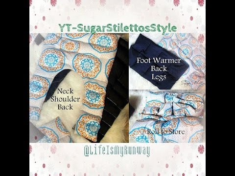 DIY Heating Pads & Cold Packs - SugarStilettosStyl