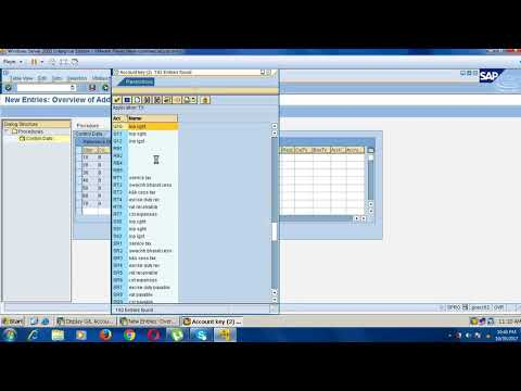 GST(goods and service tax) configuration in sap